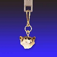 Badger Zipper Charm