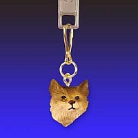 Bobcat Zipper Charm