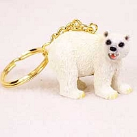 Bear Polar Key Chain