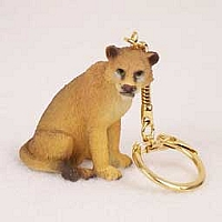 Lioness Key Chain