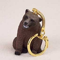 Bear Grizzly Key Chain