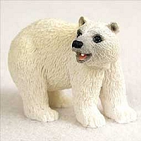 Bear Polar Tiny One Figurine