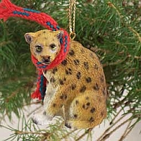 Leopard Original Ornament