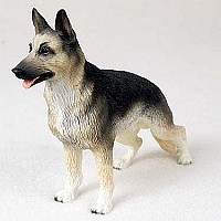 German Shepherd Tan & Black Standard Figurine