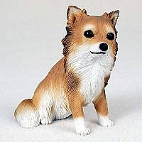 Chihuahua Longhaired Standard Figurine