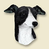 Greyhound Black & White Magnet
