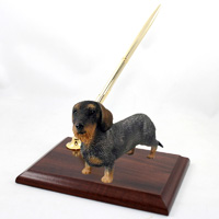 Wire Haired Dachshund Red Pen Set