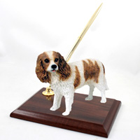 Cavalier King Charles Spaniel Brown & White Pen Set