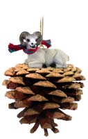 Dahl Sheep Pinecone Pet Ornament