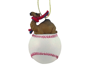 Camel Dromedary Baseball Ornament