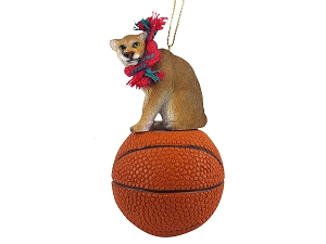 Cougar Basketball Ornament