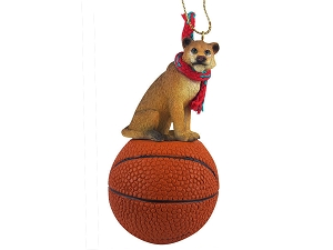 Lioness Basketball Ornament