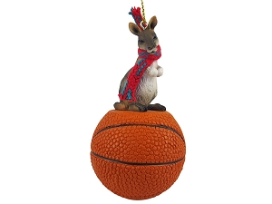 Kangaroo Basketball Ornament