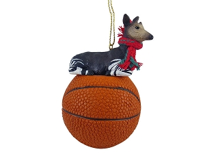 Okapi Basketball Ornament