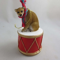 Cougar Drum Ornament