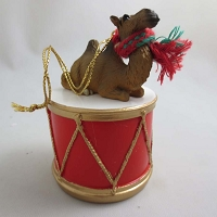 Camel Bactrian Drum Ornament