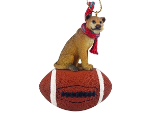 Lioness Football Ornament