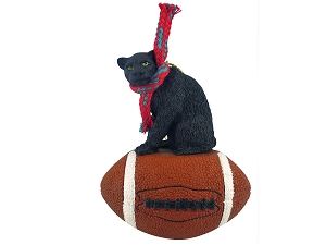 Panther Football Ornament