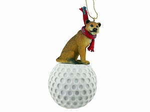 Lioness Golf Ornament
