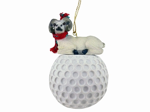 Dahl Sheep Golf Ornament