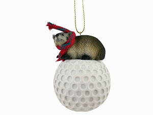 Badger Golf Ornament