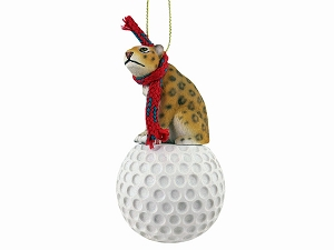 Jaguar Golf Ornament
