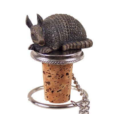 Armadillo Bottle Stopper