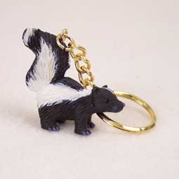 Skunk Key Chain